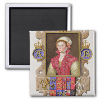 Portrait of Anne Boleyn (1507-36) 2nd Queen of Hen Magnet