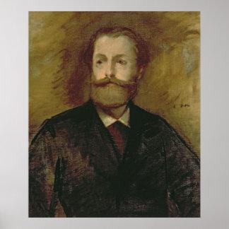 Portrait of Antonin Proust  c.1877-80 Print