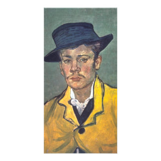 Portrait of Armand Roulin by Vincent Van Gogh Personalised Photo Card