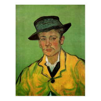Portrait of Armand Roulin by Vincent van Gogh Postcard