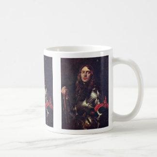 Portrait Of Armed Men With Red Armbands Mug