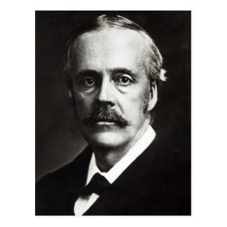 Portrait of Arthur James Balfour Postcard