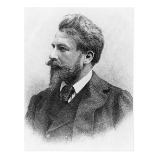 Portrait of Arthur Schnitzler Postcard