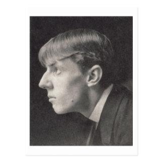 Portrait of Aubrey Beardsley (1872-98) by Frederic Postcard