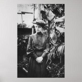Portrait of Austrian physicist Lise Meitner Poster
