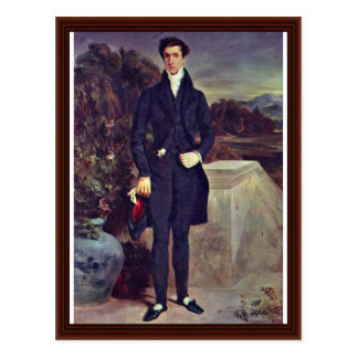 Portrait Of Baron Schwiter Postcard