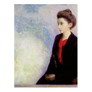Portrait of Baroness Robert de Domecy, 1900 Postcard