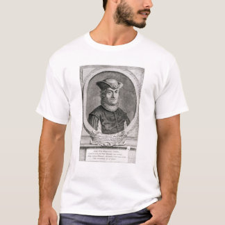 Portrait of Baruch or Benedict Spinoza T-Shirt