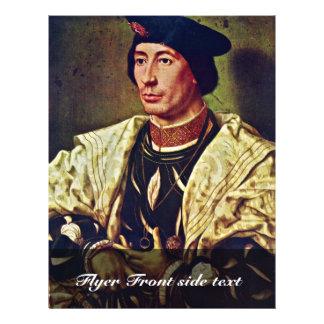 Portrait Of Baudouin Of Burgundy By Gossaert Jan ( 21.5 Cm X 28 Cm Flyer