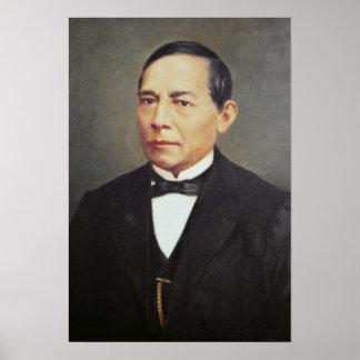 Portrait of Benito Juarez , 1948 Poster