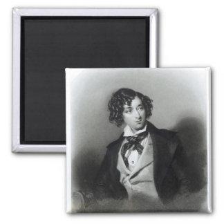 Portrait of Benjamin Disraeli Esquire M P Fridge Magnets