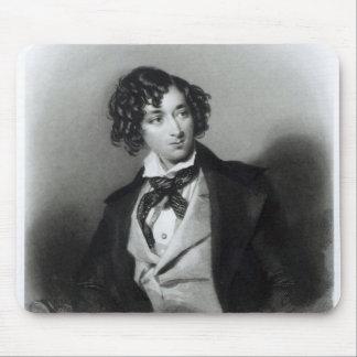 Portrait of Benjamin Disraeli Esquire  M.P. Mouse Pad