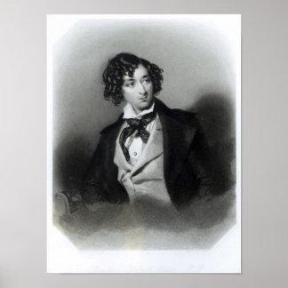 Portrait of Benjamin Disraeli Esquire  M.P. Print