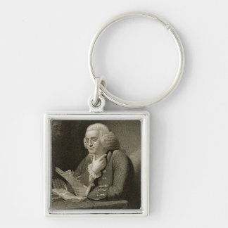 Portrait of Benjamin Franklin, engraved by Thomas Key Ring