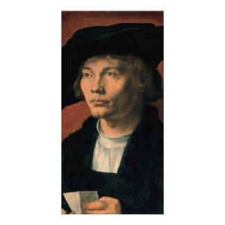 Portrait of Bernard von Reesen by Durer Picture Card