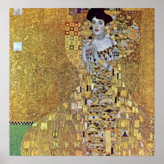 Portrait of Block-Bauer 2 by Gustav Klimt Posters