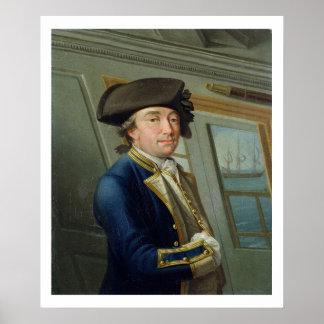 Portrait of Captain William Locker (1731-1800) 176 Poster