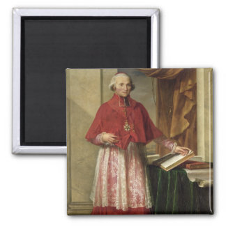 Portrait of Cardinal Joseph Fesch  1806 Square Magnet