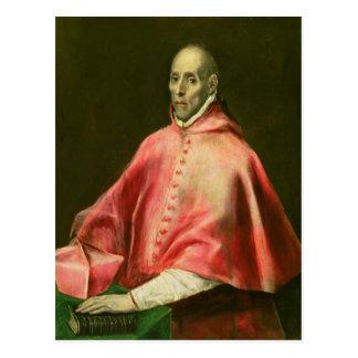 Portrait of Cardinal Juan de Tavera Postcard