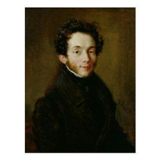Portrait of Carl Maria Friedrich Ernst von Postcard