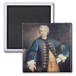 Portrait of Carlo Farinelli, 'Il Ragazzo' Magnet