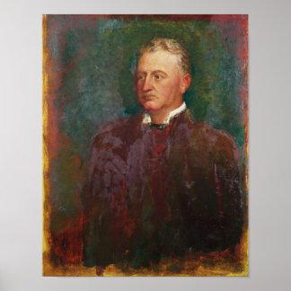 Portrait of Cecil John Rhodes  1898 Print