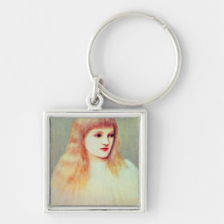 Portrait of Cecily Horner, 1895 Keychain