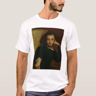 Portrait of Charles Baudelaire  1844 T-Shirt