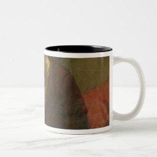 Portrait of Charles Baudelaire  1847 Two-Tone Coffee Mug