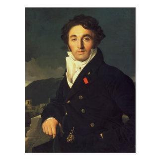 Portrait of Charles Cordier  1811 Postcard
