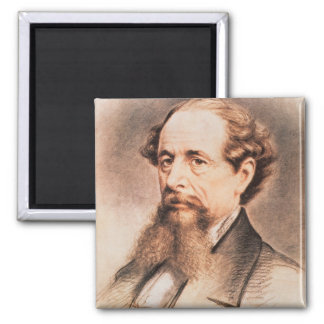 Portrait of Charles Dickens, 1869 Magnet