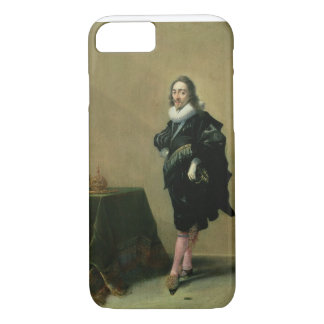 Portrait of Charles I (1600-49) 1632 (oil on panel iPhone 7 Case