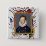 Portrait of Charles IX of France (1550-74) from 'M 15 Cm Square Badge