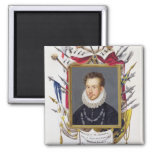 Portrait of Charles IX of France (1550-74) from 'M Magnet