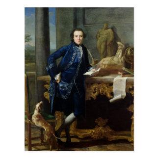 Portrait of Charles John Crowle  of Crowle Postcard