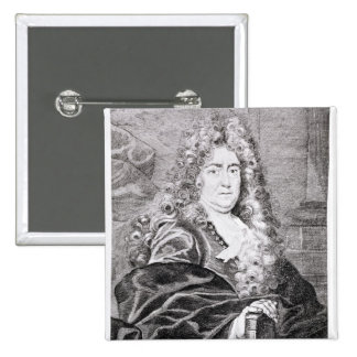 Portrait of Charles Perrault Pin