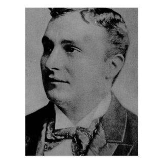 Portrait of Charles Spencer Chaplin, Sr Postcard