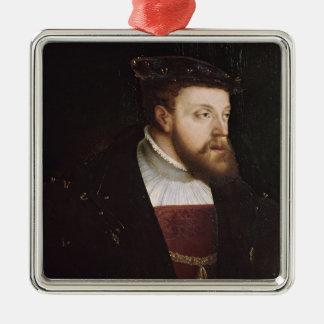 Portrait of Charles V Christmas Tree Ornaments