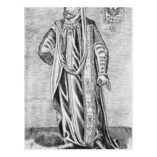 Portrait of Charles V , Holy Roman Emperor Postcard