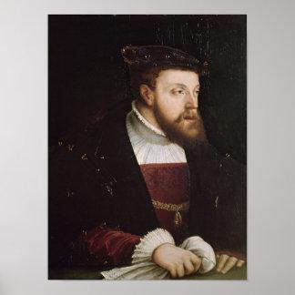 Portrait of Charles V Poster