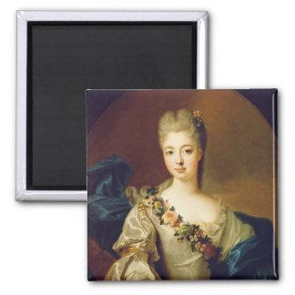 Portrait of Charlotte Aglae of Orleans, 1720s Fridge Magnets