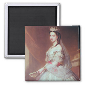 Portrait of Charlotte of Saxe-Cobourg-Gotha Fridge Magnet