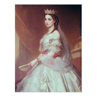 Portrait of Charlotte of Saxe-Cobourg-Gotha Postcard