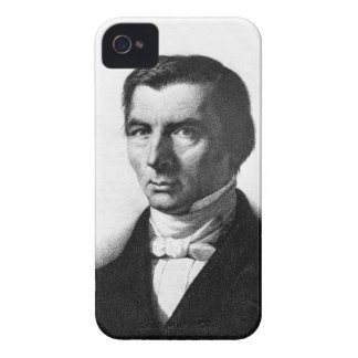 Portrait of Classical Liberal Frederic Bastiat iPhone 4 Case-Mate Cases