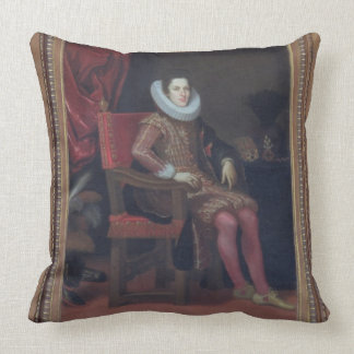 Portrait of Cosimo II de'Medici (1590-1621) (oil o Cushion