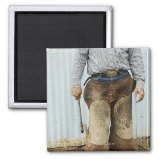 Portrait of Cowboy Blacksmith Magnet