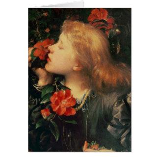 Portrait of Dame Ellen Terry  c.1864 Card