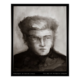 Portrait of David Lynch Poster