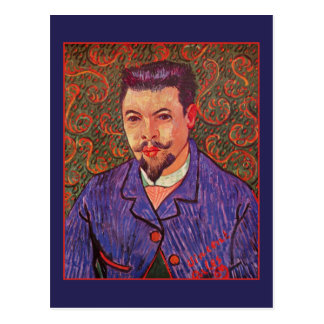 Portrait of Doctor Felix Rey by Vincent van Gogh Postcard