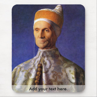 Portrait of Dogen Leonardo Loredan by Bellini Mouse Pad